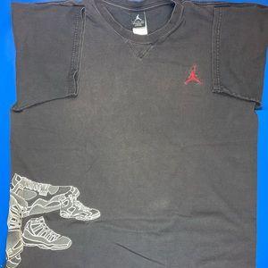 Air Jordan Mens Vintage T Shirt Mens XL Nike Retro